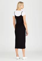 c(inch) - Slip Dress Black