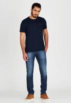 POLO - Crew Neck T-Shirt Navy
