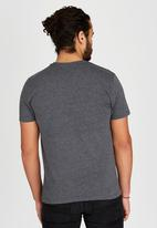 Polo Classic - Classic Printed T-Shirt Dark Grey