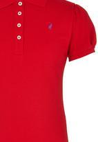 POLO - Girls Golfer Red
