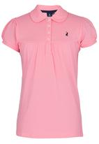 POLO - Girls Golfer Mid Pink