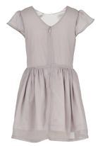 See-Saw - Chiffon Dress Pale Grey