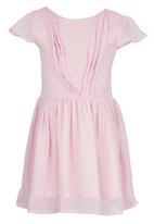 See-Saw - Chiffon Dress Pale Pink
