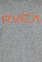 RVCA - Big Rvca Tee Pale Grey