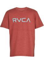 RVCA - Big Rvca Tee Red