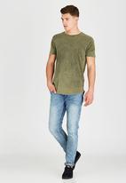 Silent Theory - Acid Tail T-Shirt Khaki Green