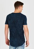 Silent Theory - Acid Tail T-Shirt Navy