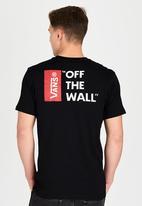 Vans - Vans Off The Wall III T-Shirt Black