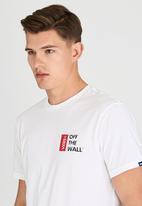 Vans - Vans Off The Wall III T-Shirt White