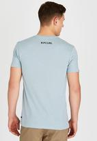 Rip Curl - Corp Rip T-Shirt Blue and Grey