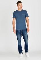 RVCA - PTC 2 Pigment T-Shirt Mid Blue