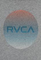 RVCA - Motors Lined Tank Pale Grey