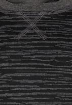 See-Saw - Colourblock Sweater Black
