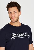 Billabong  - Africa Frame Short Sleeve T-Shirt Navy