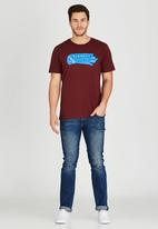 Element - Indian Short Sleeve T-Shirt Red
