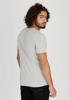 GUESS - Short Sleeve Guess Beach Crew T-Shirt Grey