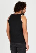 Tokyo Laundry - Achilles Vest Black