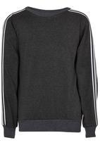 Rebel Republic - Sporty Sweater Dark Grey