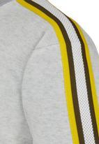 Rebel Republic - Sporty Sweater Grey Melange