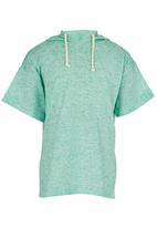 See-Saw - Hooded Tee Mid Green