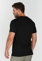 JEEP - Short Sleeve Printed T-Shirt Black