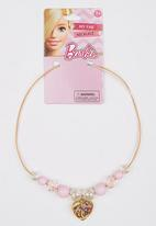 Character Fashion - Barbie Necklace Mid Pink