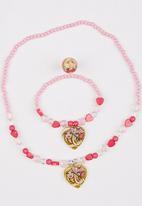 Character Fashion - Barbie Jewellery Set Mid Pink