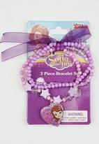 Character Fashion - Sofia The First  Bracelet Set Mid Purple