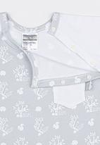 Poogy Bear - 2 Piece Top And Short Set Grey