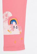 POP CANDY - Printed Leggings Mid Pink
