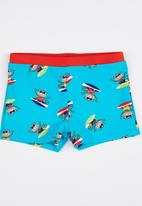 POP CANDY - Printed Swimming Trunks Multi-colour
