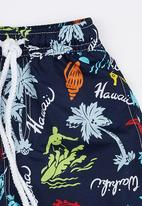POP CANDY - Printed Board Shorts Multi-colour