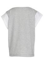 PUMA - Style Top G Light Gray Heather-Puma Whit Grey