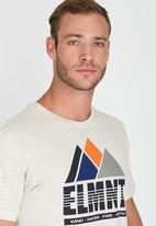 Element - Peaks Short Sleeve T-Shirt Grey