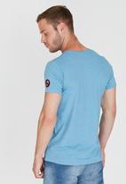Lizzard - Richard Short Sleeve Slim Fit T-Shirt Blue