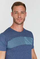 Lizzard - Braxton Short Sleeve T-Shirt Blue