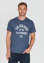 Levi's® - Graphic Set-In Neck 2 Blue