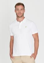 POLO - Limited Edition Pique Golfer White