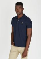 POLO - Limited Edition Pique Golfer Navy