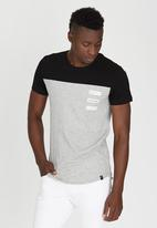 St Goliath - Stacked T-Shirt Grey