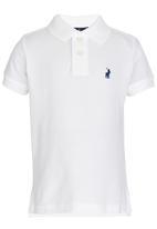 POLO - Austin white classic golfer White