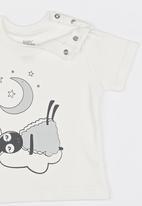 Baby Corner - Sheep  2 Piece T-Shirt Short Set Multi-colour