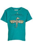 Lizzard - Printed Tee Light Green
