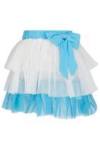 POP CANDY - Girls Printed  2 Piece Set Blue