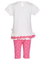 POP CANDY - Printed Top And Pant Set Multi-colour