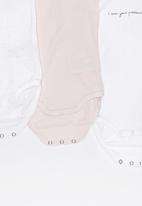 name it - 3 Pack Long Sleeve Ballerina  Set Multi-colour