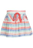 Roxy - Move On Up Skirt Multi-colour