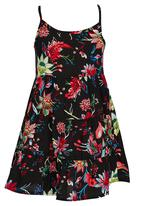 See-Saw - Tiered Summer Dress Multi-colour