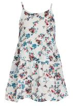 See-Saw - Tiered Summer Dress Blue