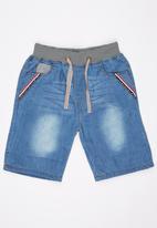 POP CANDY - Denim  Shorts Blue